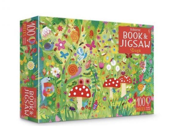Bug Puzzle & Book