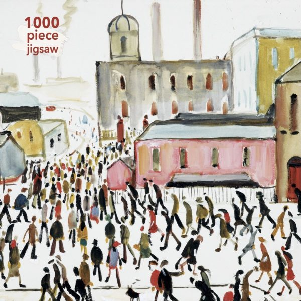 Jigsaw L.S. Lowry: Going to Work