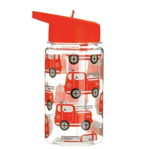 Sass and Belle Drink Up Fire Engine Water Bottle