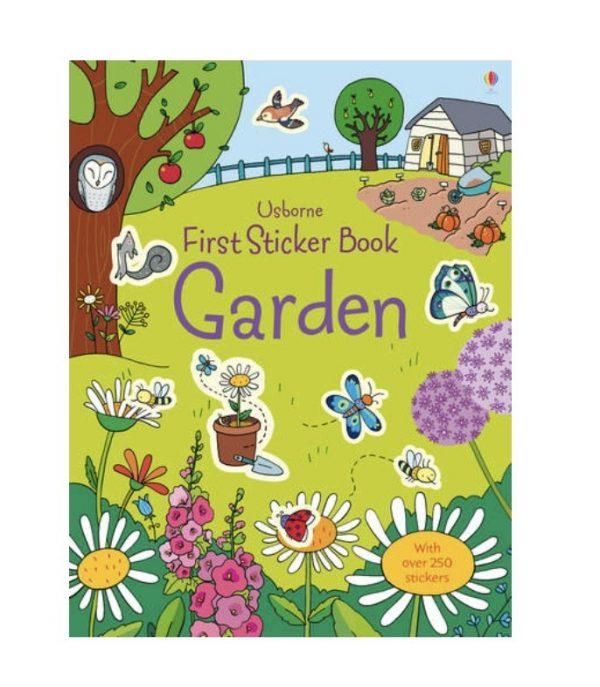 First Sticker Book Garden