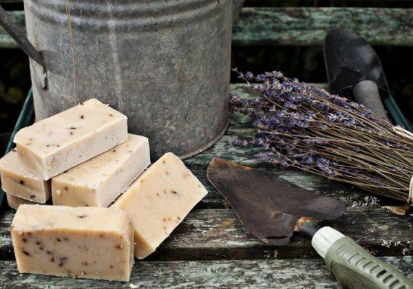 Gardeners Goats Milk Soap