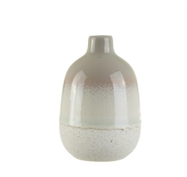 Sass and Belle Mojave Glaze Grey Vase