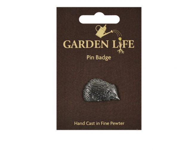 Hedgehog Pin Badge