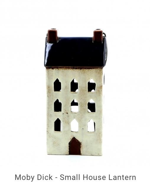 Small House Blue Lantern