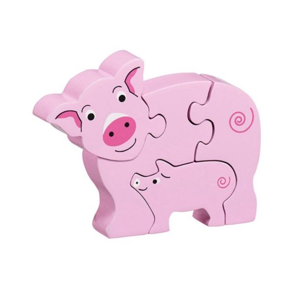 Lanka Kade Simple Pig & Piglet Puzzle