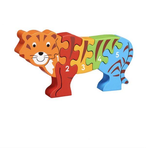 Lanka Kade Tiger 1-5 Jigsaw