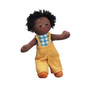 Lanka Kade Boy Doll Black Hair