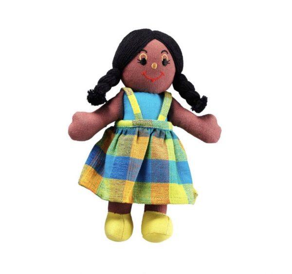 Lanka Kade Girl Doll Black Hair