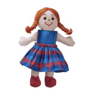 Lanka Kade Girl Doll Red Hair