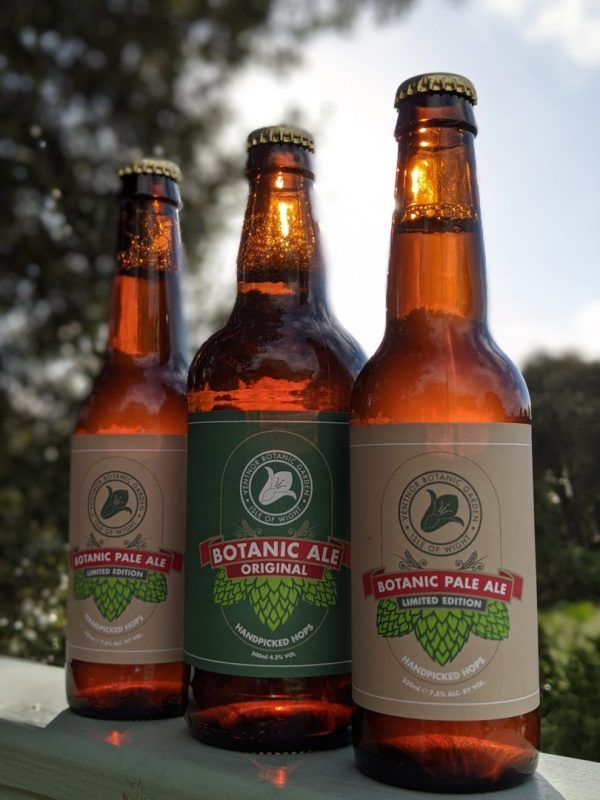 Trio of Botanic Pale Ale & Botanic Ale