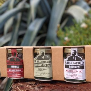 Dr Hill Hassel's Trio of Culinary Sea Salts