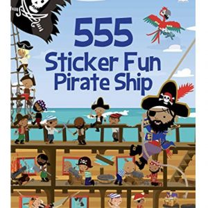 555 Sticker Fun Pirate Ship Book