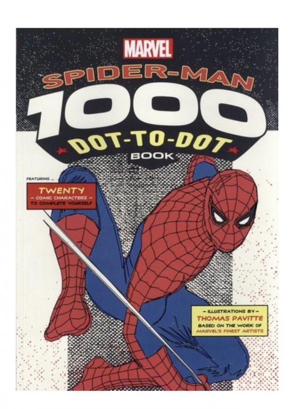 Marvel's Spider-Man 1000 Dot to Dot Book