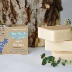 Tea Tree & Eucalyptus Goats Milk Soap