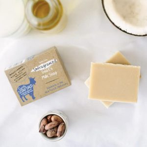 Natural Unfragranced Goats Milk Soap