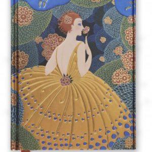 Winter Flowers Hardback Journal / Notebook