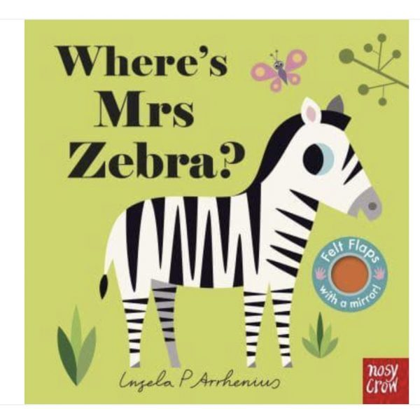 Where's Mrs Zebra Book