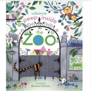 Peep Inside The Zoo Book
